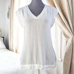 NWOT sleeveless Reiss white top